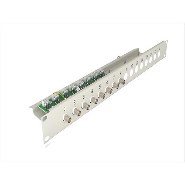 Separator i transformator Video do systemów analogowych z dystrybucją zasilania EWIMAR LST-8R-FPS