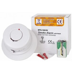 Bezprzewodowy optyczny detektor dymu ELMES MTS 166