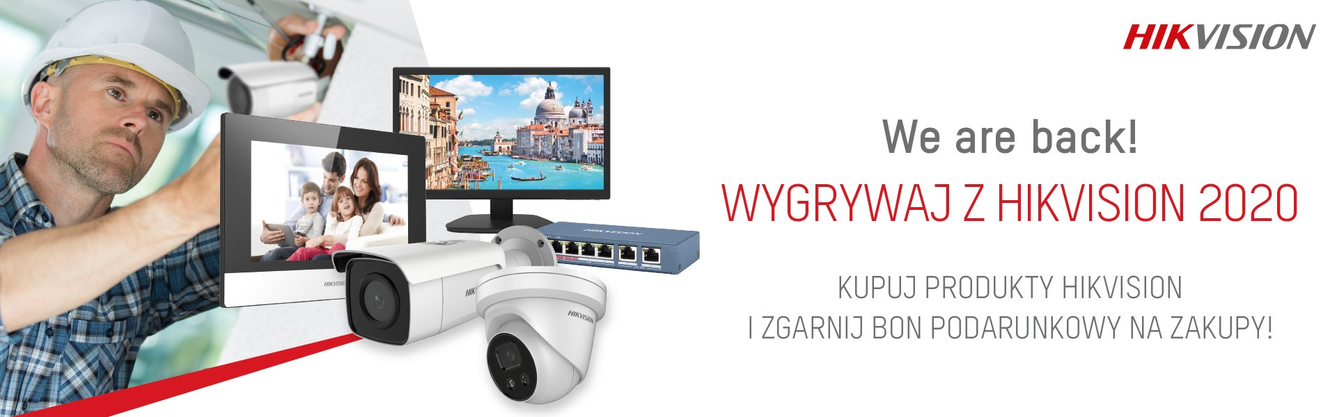 Hikvision We are back 2020