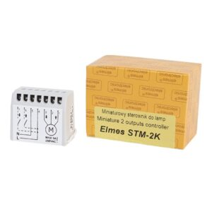 Miniaturowy sterownik do lamp ELMES STM-2K