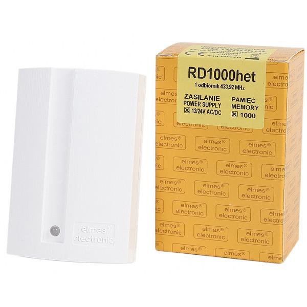 Odbiornik dwukanałowy z wyświetlaczem ELMES RD1000-het