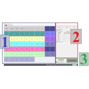 Program tablicy synoptycznej GORKE SPA-1000/PR