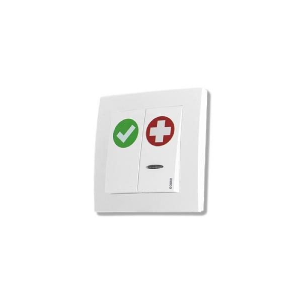 Przycisk alarmowo-kasujący GORKE SPR-PK2/AK/BAT