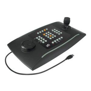Uniwersalna klawiatura do zarządzania aplikacjami CCTV z komputera VIDEOTEC DCZ