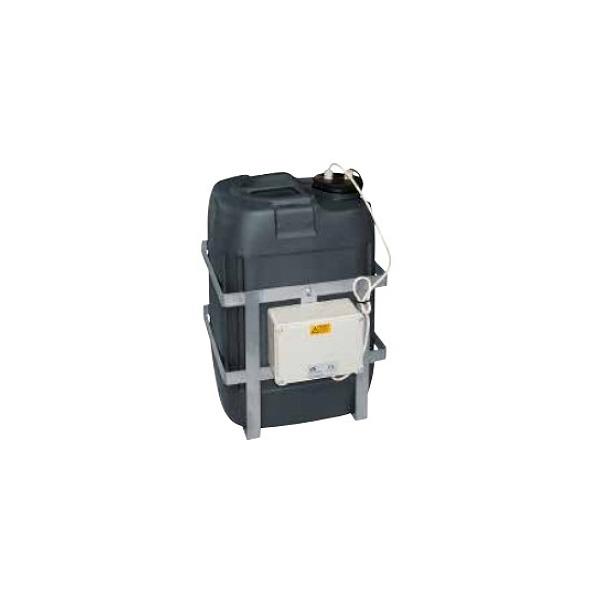 Zbiornik z pompą spryskiwacza VIDEOTEC WAS1V23L30M00