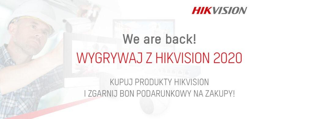 hikvision promocja bony rabatowe