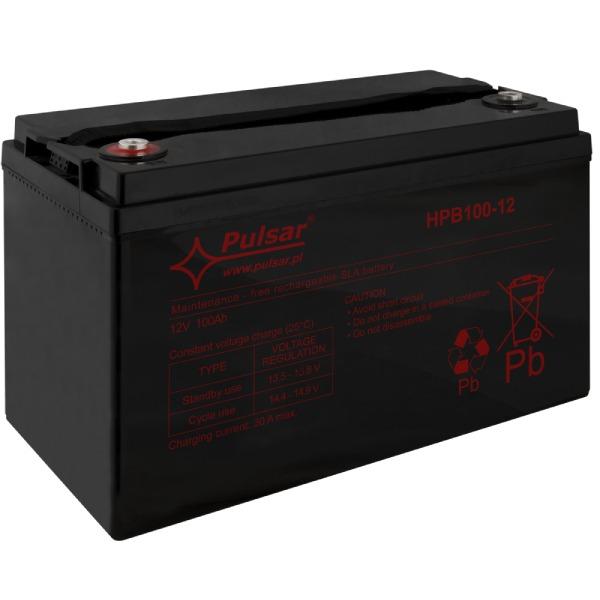 Akumulator Pulsar HPB100-12