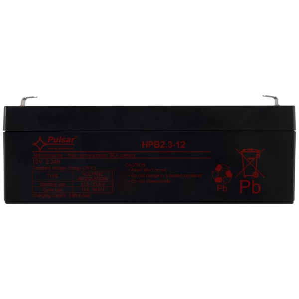 Akumulator Pulsar HPB2,3-12