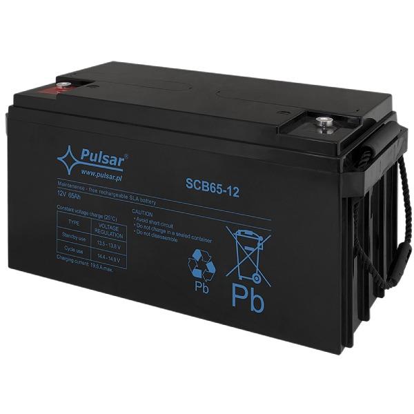 Akumulator Pulsar SCB65-12