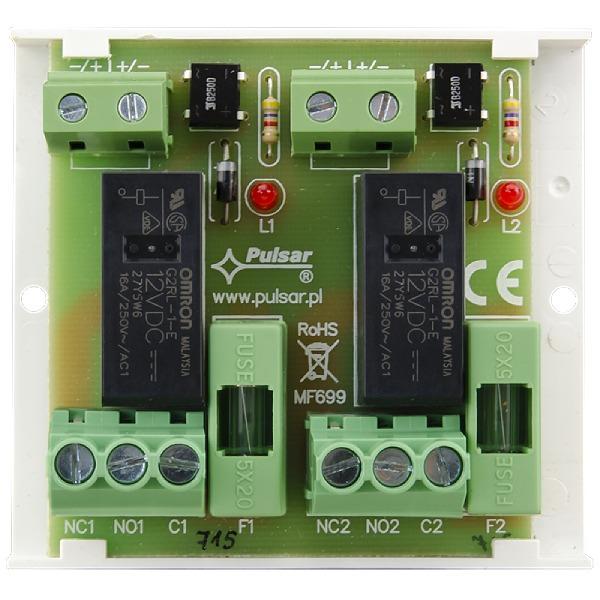 Moduł przekaźnikowy PU2/HV Pulsar AWZ625
