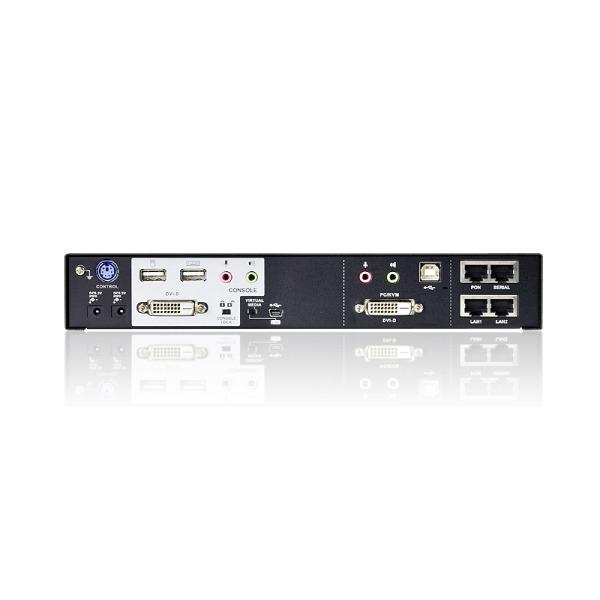 1-portowy przełącznik KVM over IP ATEN CN8600-AT-G
