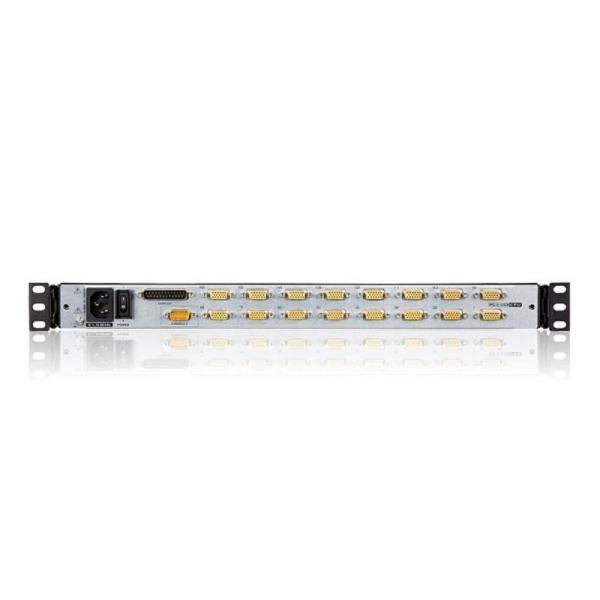 16-portowy przełącznik KVM LCD Dual Rail ATEN CL5816N-ATA-AG