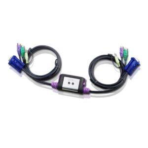 2-portowy przełącznik KVM PS/2 ATEN CS62A-A7