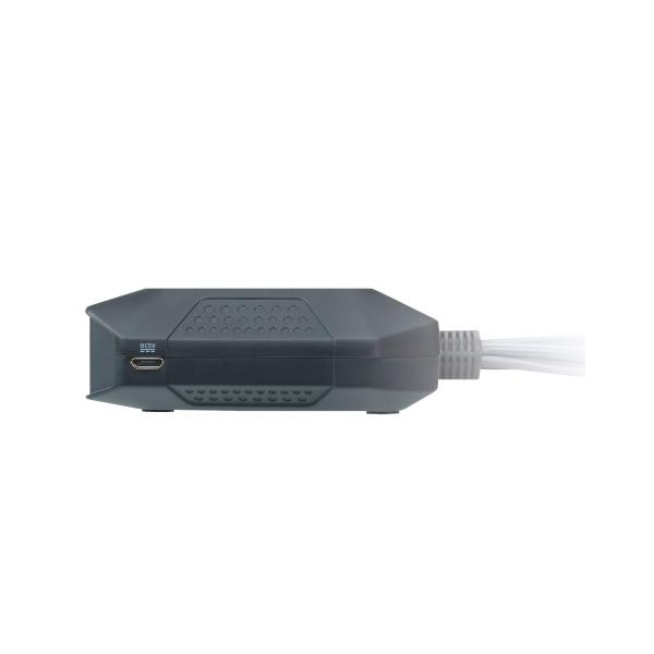 2-portowy przełącznik KVM USB DisplayPort ze zdalnym selektorem portu ATEN CS22DP-AT