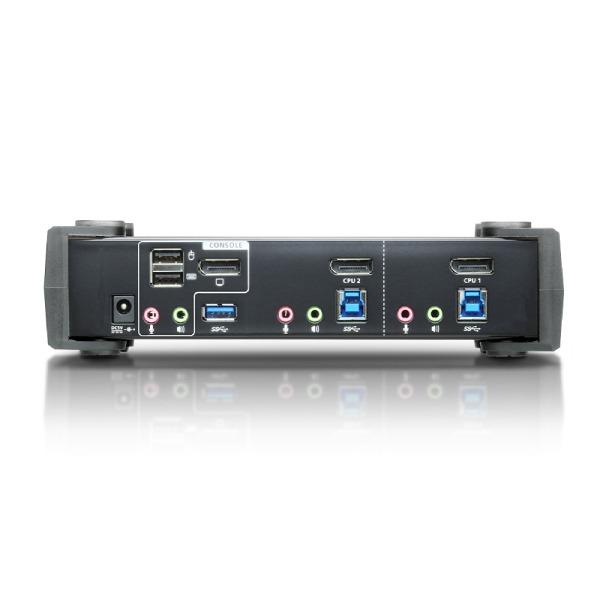 2-portowy przełącznik KVMP 4K DisplayPort ATEN CS1922-AT-G