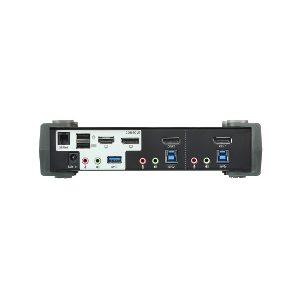 2-portowy przełącznik KVMP 4K DisplayPort ATEN CS1922M-AT-G