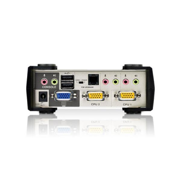 2-portowy przełącznik KVMP ATEN CS1732AC-AT