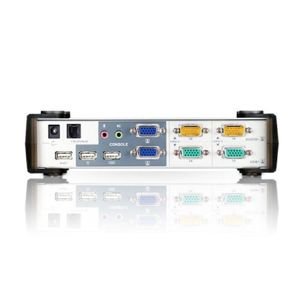 2-portowy przełącznik KVMP ATEN CS1742C-AT