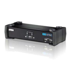 2-portowy przełącznik KVMP USB DVI/Audio ATEN CS1762A-AT-G