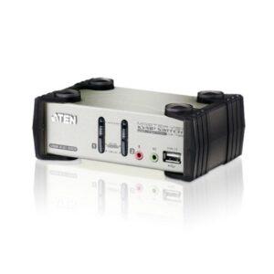 2-portowy przełącznik KVMP z menu OSD ATEN CS1732B-A7-G
