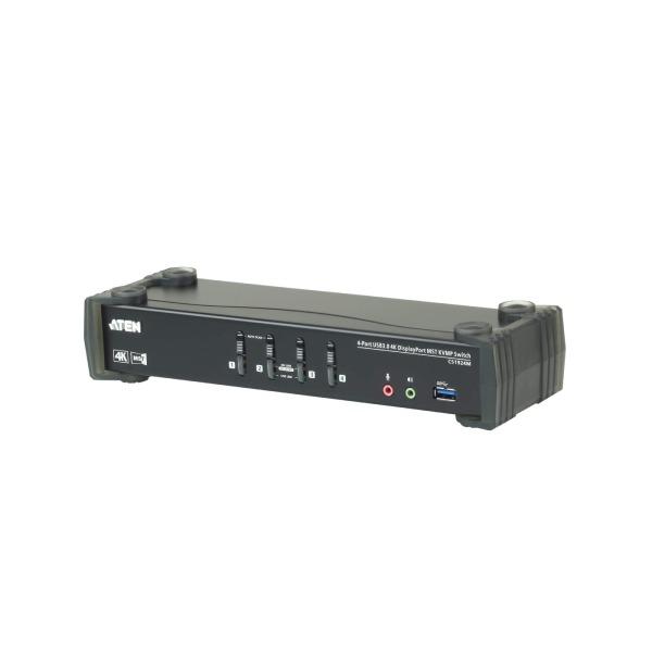 4-portowy przełącznik KVMP 4K DisplayPort ATEN CS1924M-AT-G