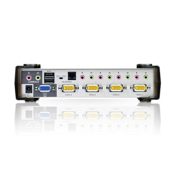 4-portowy przełącznik KVMP ATEN CS1734AC-AT