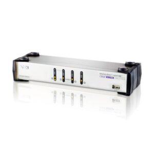 4-portowy przełącznik KVMP ATEN CS1744C-AT