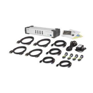 4-portowy przełącznik KVMP USB 3.0 DisplayPort ATEN CS1914-AT-G
