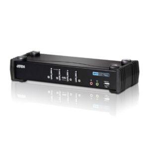4-portowy przełącznik KVMP USB DVI/Audio ATEN CS1764A-AT-G