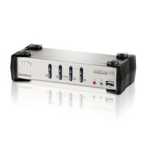 4-portowy przełącznik KVMP z menu OSD ATEN CS1734B-A7-G