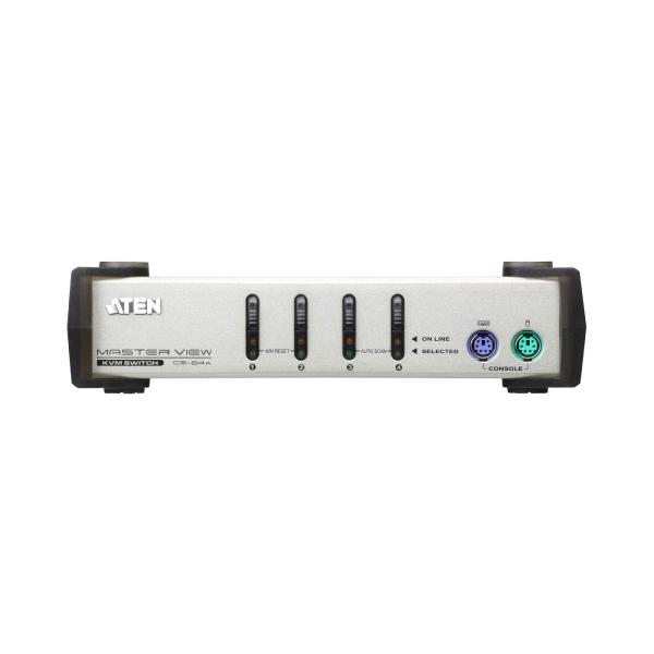 4-portowy przełącznik KVM PS/2 ATEN CS84AC-AT