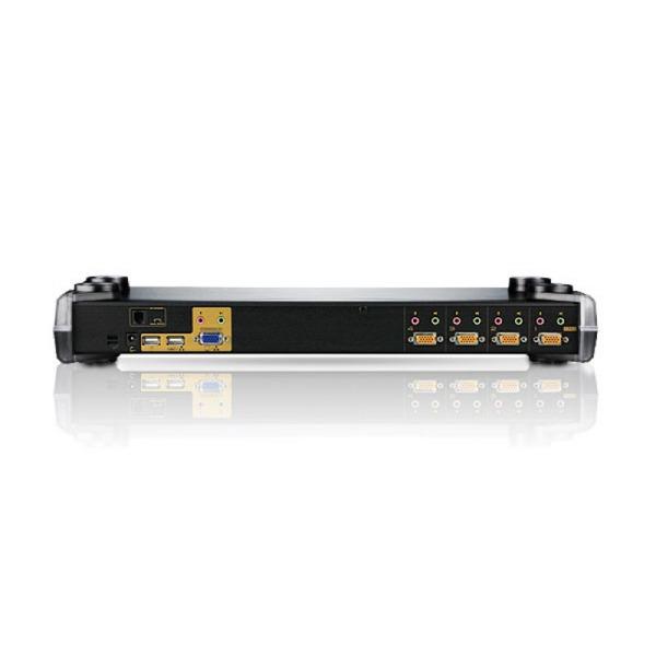 4-portowy przelacznik KVM PS/2-USB ATEN CS1754Q9-AT-G