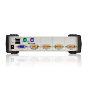4-portowy przełącznik KVM PS/2-USB ATEN CS84U-AT