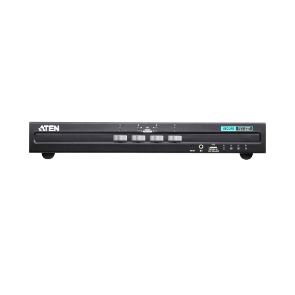 4-portowy przełącznik Secure KVM USB DVI ATEN CS1184D-AT-G
