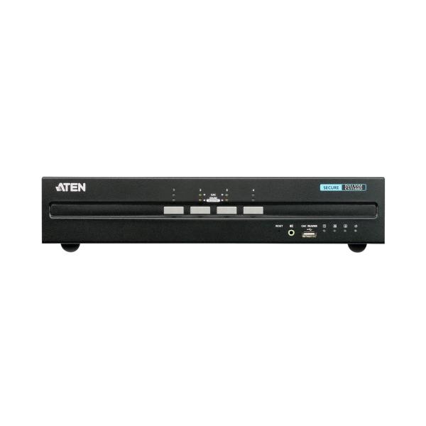4-portowy przełącznik Secure KVM USB DVI Dual Display ATEN CS1144D-AT-G
