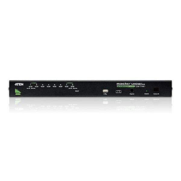 8-portowy przełącznik KVM PS/2-USB ATEN CS1708A-AT-G