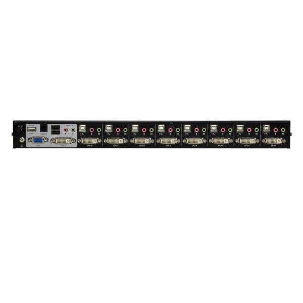 8-portowy przełącznik KVM USB DVI ATEN CS1768-AT-G