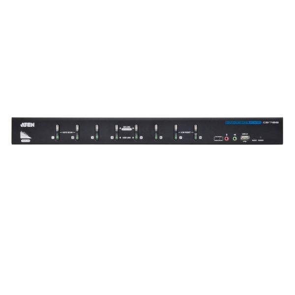 8-portowy przełącznik KVM USB DVI Dual Link ATEN CS1788-AT-G