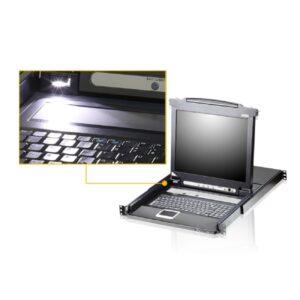 8-portowy przełącznik LCD ATEN CL5708M-ATA-AG