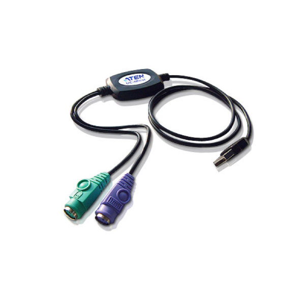 Adapter PS/2 do USB (90 cm) ATEN UC10KM-AT