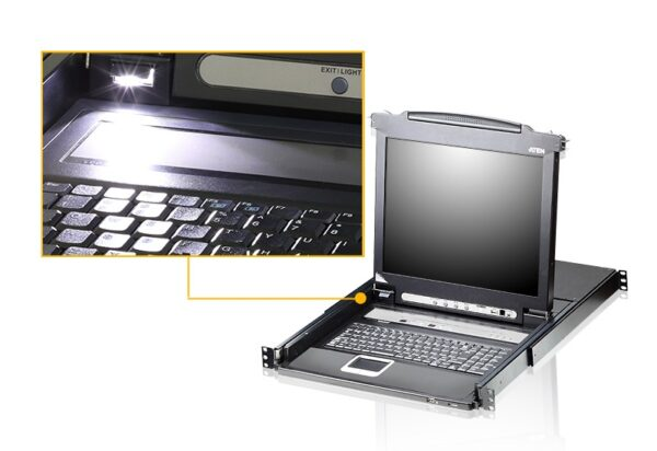 16-portowy przełącznik KVM LCD ATEN CL5716M-ATA-AG