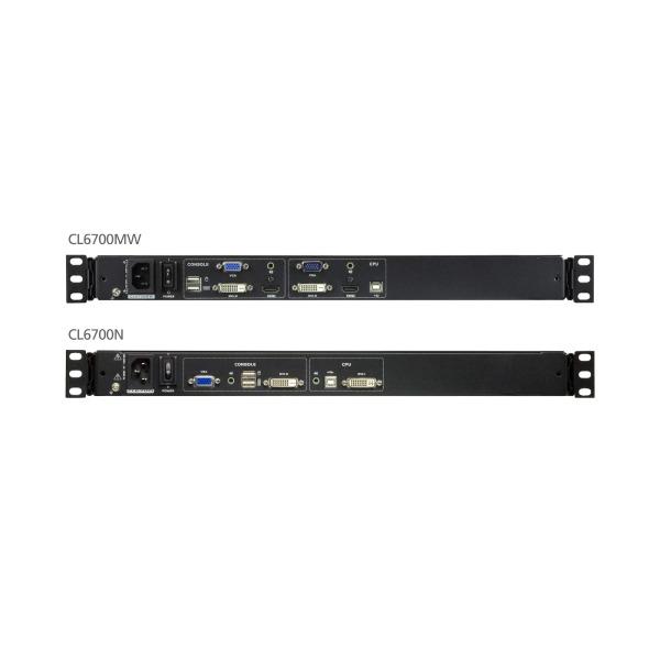 Konsola LCD DVI LCD ATEN CL6700MW-ATA-AG
