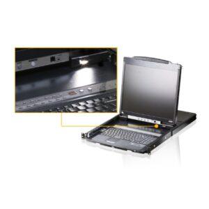 Konsola LCD PS/2-USB Dual Rail ATEN CL5800N-ATA-AG