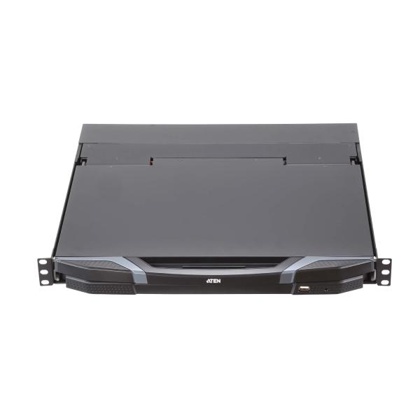 Konsola Short Depth USB HDMI DVI VGA Dual Rail LCD z obsluga urzadzen peryferyjnych USB ATEN CL3800NX ATA AG 7