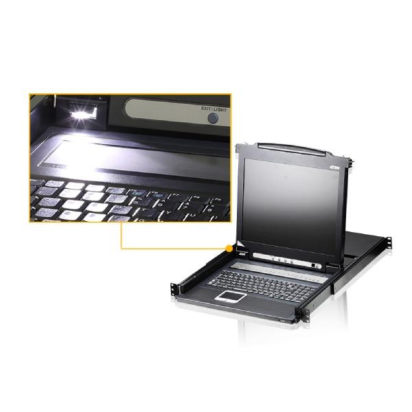 Wysuwana konsola LCD ATEN CL1008M-ATA-AG