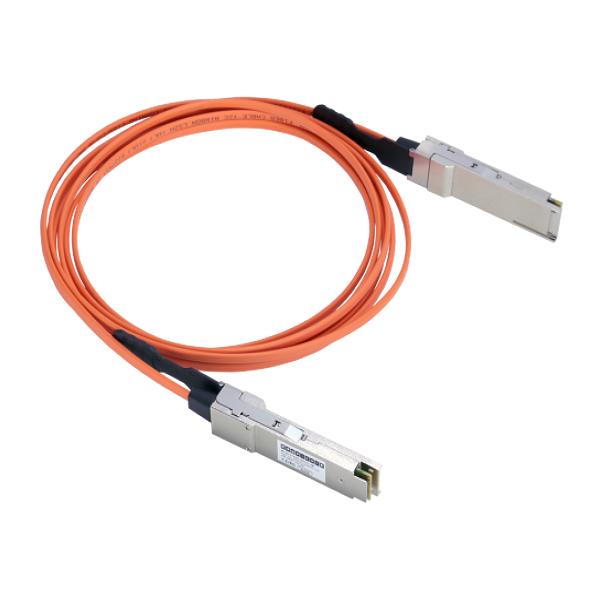Aktywny kabel optyczny 5m 40 GB / S Edgecore ET6402-40AOC-5M
