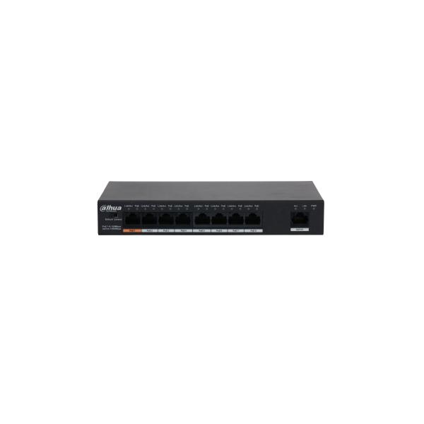 Switch PoE 9-portowy Dahua PFS3009-8ET1GT-96