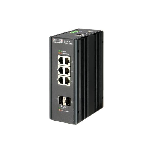 Switch przemysłowy Gigabit Ethernet Edgecore ECIS4500-6T2F