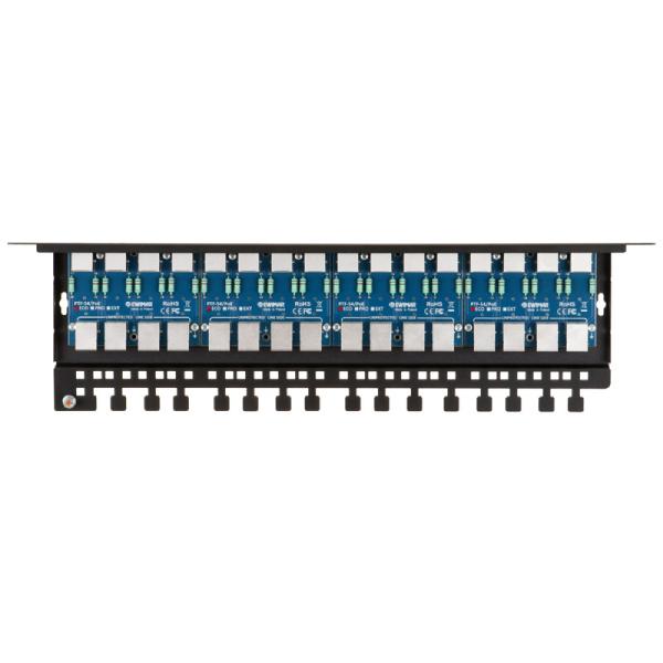 16-kanałowy ochronnik przeciwprzepięciowy sieci LAN EWIMAR PTF-516R-ECO/PoE