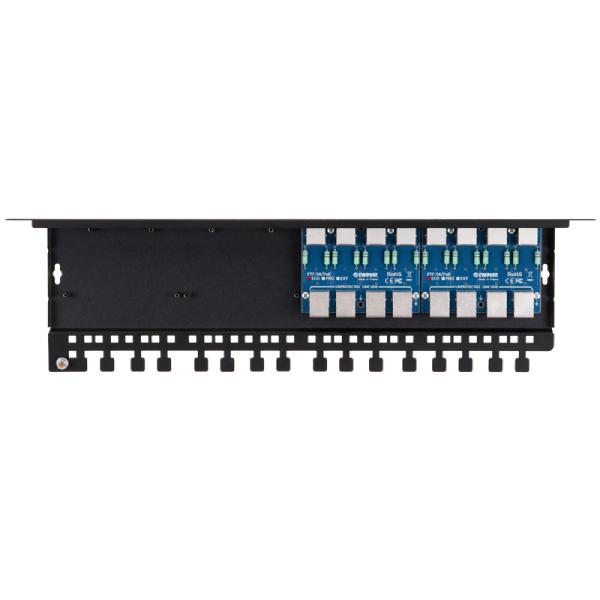 8 kanalowy ogranicznik przepiec sieci LAN EWIMAR PTF 58R PRO PoE 1